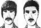 Mit Phantombildern versuchte die Polizei, einen Serientäter aufzuspüren. In der DDR waren solche öffentlichen Fahndungsaufrufe eher selten.